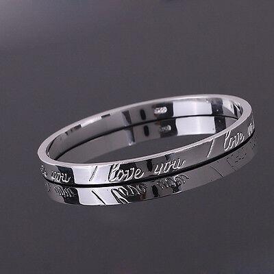 Women/Mens Jewelry Sterling Soild Silver Charm Bracelet Bangle Chain XMAS S925