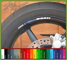 8 x YAMAHA TDM Wheel Rim Stickers Decals - Many Colours TDM900 TDM850 900 850 B
