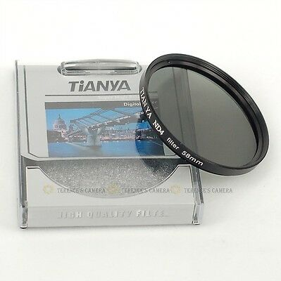 TIANYA 58mm 58 mm Neutral Density ND 4 ND4 Filter New
