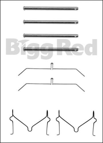 H1129 Front Brake Caliper Pad Fitting Kit for Mitsubishi Shogun V98 2007-