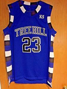 a299d80cfc6 One Tree Hill Nathan Scott #23 Ravens Blue Basketball Jersey S, M, L ...