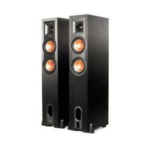 Klipsch-R-26PF-260W-Powered-Floorstanding-Bluetooth-Speaker-Pair-1064478