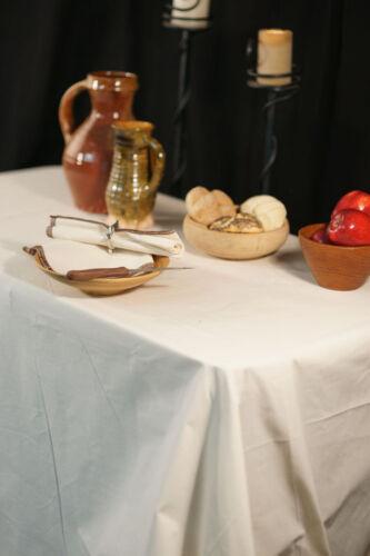 Medieval-re enactment-larp-cosplay-fantasy-pagan calico table de banquet chiffon