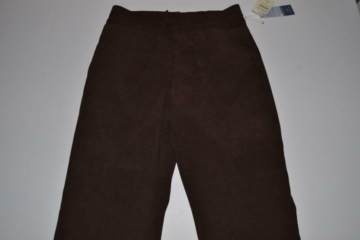 COLDWATER CREEK ASPENWOOD BROWN DRESS PANTS WOMENS SIZE 8 NEW