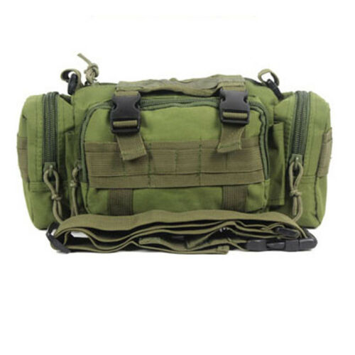 Fishing Tackle Bag Shoulder Pack Storage Box Waist Large Lure Carry Travel Bags