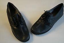 COMFORTABEL Damen Comfort Schuhe Schnürschuh Sneaker Leder grau bequem Gr.41 NEU