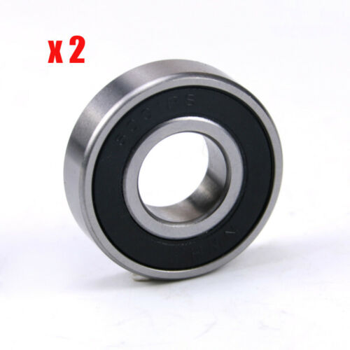 Details about  /2pcs 28mm x 12mm x 8mm Roller-Skating Wheels Deep Groove Ball Bearing 6001R