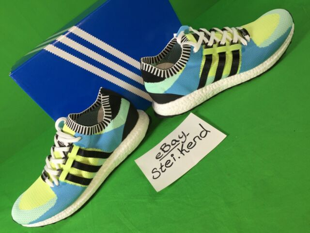 buy online 4b345 4c15e Adidas BOOST Mens Size 11 Frozen Yellow EQT Support Ultra PK Limited NEW  wTag