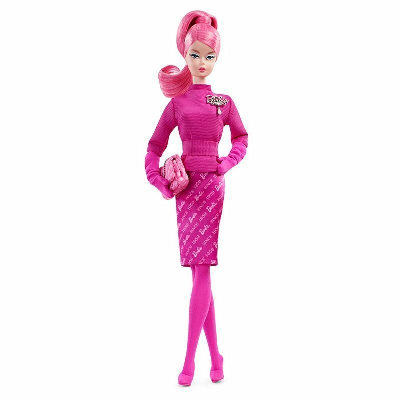 2018 oro Label orgullosamente rosado Muñeca Barbie