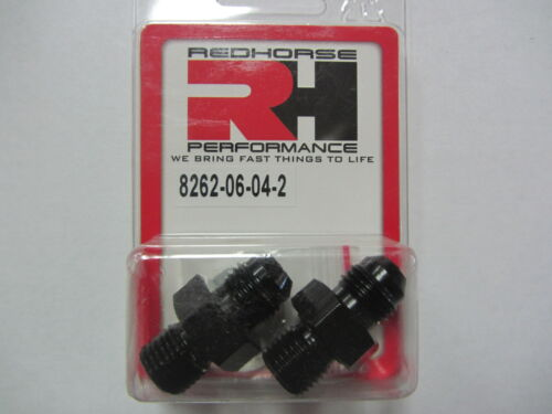 6an x 1//4npsm Fittings Redhorse 8262-06-04-2 TH 350 400 Transmission