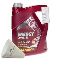 5 (1x5) Liter MANNOL SAE 5W-30 Energy Combi LL Motoröl / Longlife III