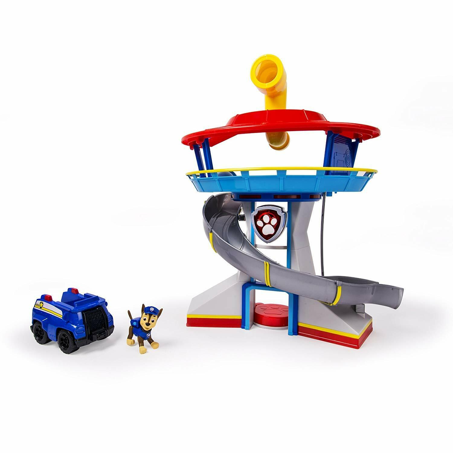 Durable Look-out Playset w  Periscope & Elevator Chase & Sounds Great Gift Idea