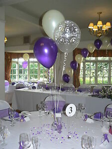 Wedding balloons decorations 15 table displays hearts design many image is loading wedding balloons decorations 15 table displays hearts design junglespirit Gallery