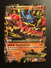Carte Pokemon M LUCARIO 55/111 Mega EX XY3 Française NEUF