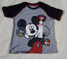 Disney/Okie Dokie Boy Toddler 3T Short-Sleeve Tee Shirt Top, Mickey Mouse & Pals