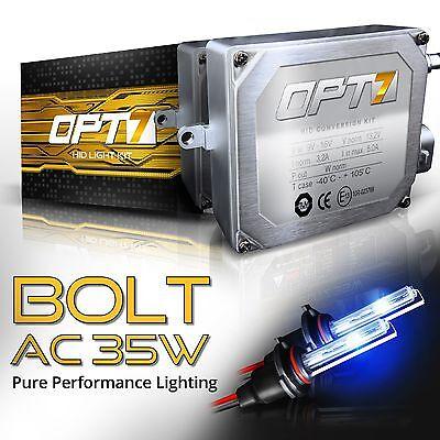 OPT7 AC 35W HID Conversion Kit H4 H7 H11 H13 9003 9005 9006 6K 5K Hi Lo Bi Xenon