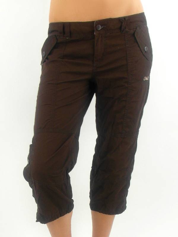 O'Neill Pantalon en Tissu 3 4 Pantalon Comoé River Marron Poches Neuf