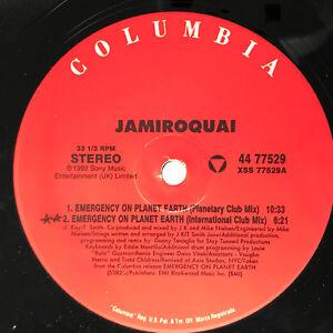 Jamiroquai-Emergency-On-Planet-Earth-Vinyl-Record-Original-Pressing-1993