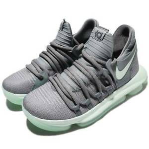 ae8d996cbae ☆ Nike Zoom KD 10 Kevin Durant GS Cool Gray Igloo White 918365 002 ...