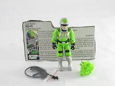 Gi Joe Sci Fi 1986 Original Completo Tarjeta Vintage