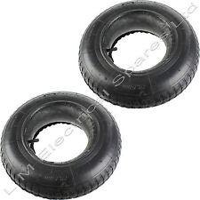 2 x Wheelbarrow Wheel Rubber Inner Tube and Barrow Tyre 3.50-8 Innertube 35 PSi