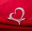 Anello-Fede-Fedina-Anelli-Fidanzamento-Cuore-Spezzato-Love-Solitario-Idea-Regalo miniatura 4