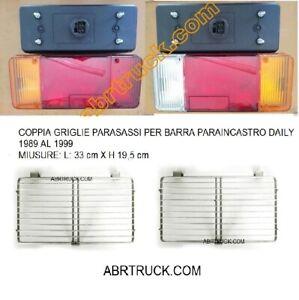 droite pour Iveco Fiat Citroen Paire de coques de phare arrière gauche