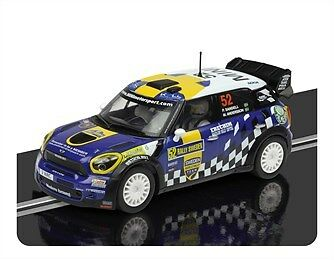 Scalextric C3401 Mini Countryman WRC Rally Sweden 2012