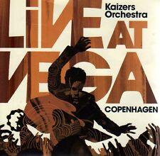 2 CD Kaizers Orchestra Live At Vega Copenhagen, Norwegen, norwegisch, Janove