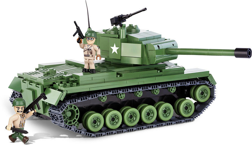 Construction Toy Small Army M46 Patton American Middle Tank
