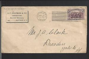 BUFFALO-NEW-YORK-1894-231-COVER-TO-DRESDEN-N-Y-ADVT-A-F-CHAPMAN-CONTRACTOR