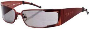 argento By da Designer Eyewear Shades 6 Rectangle Ex Exte esaurito nero 63903 scuro Occhiali Italia esaurito sole Versace marrone Rosso Zp45nq8w