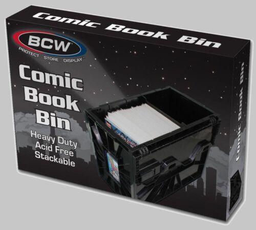 BCW BCW  Short Comic Book Bin Black