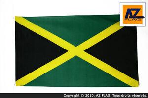 DRAPEAU-JAMAIQUE-90x60cm-DRAPEAU-JAMAICAIN-60-x-90-cm-DRAPEAUX-Neuf