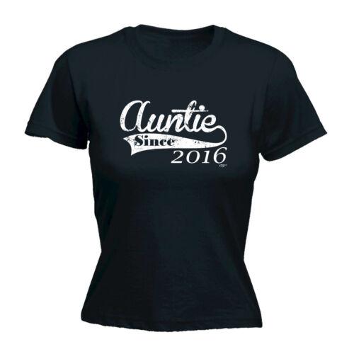 Drôle Nouveauté Tops T-shirt femme tee tshirt 2016 tante depuis