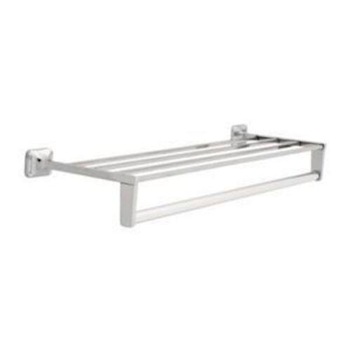 "24/"" Towel Shelf w// Bar /& Support Braces Chrome"