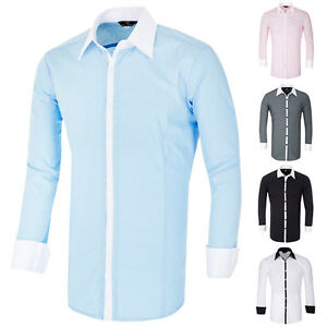 cheap fashion mens slim fit casual t shirt tops dress