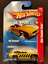 2008 Hot Wheels #097 Web Trading Cars 21/24 - '69 Camaro - M6999 1L