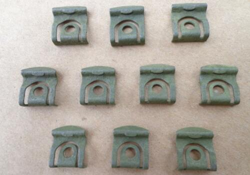 65-69 FORD OR MERCURY C5A6-242413-A 4711SX 10 NOS REAR WINDOW MOULDING CLIPS!