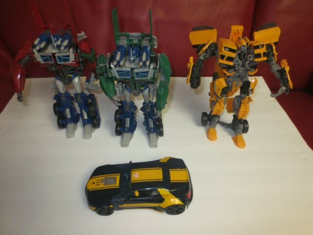 Transformers Bumblebee - Optimus Prime Megatron 9