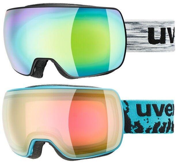 UVEX COMPACT FM FULL MIRROR Skibrille Snowboardbrille Collection 2019 NEU  | Gutes Design