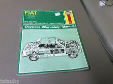 HAYNES FIAT 128 OWNERS WORKSHOP MANUAL 1972 THRU 1979
