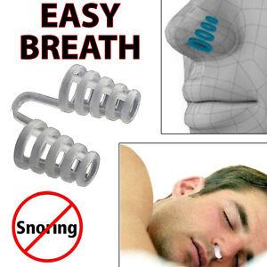 Anti Snore Breathe Easy Sleep Nasal Dilators Apnea Aid Device No Strip Nose Clip