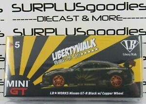 TSM-Model-Mini-GT-Overseas-Edition-LB-Works-LibertyWalk-Black-NISSAN-GT-R-R35-5