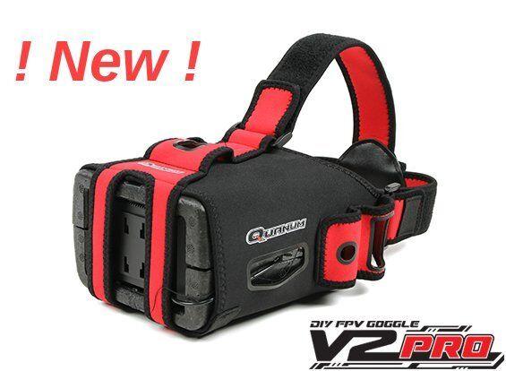 Nuevo Kit de las gafas más reciente Quanum V2 PRO y monitor ideal para FPV UK Post