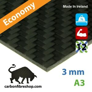 ECONOMY-Real-Carbon-Fibre-Sheet-A3-297x420x3mm