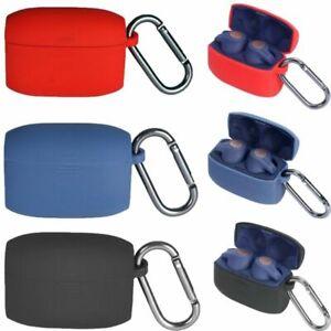 Portable Silicone Protective Case Cover Box W Anti Lost Hook For Jabra Elite 65t Ebay