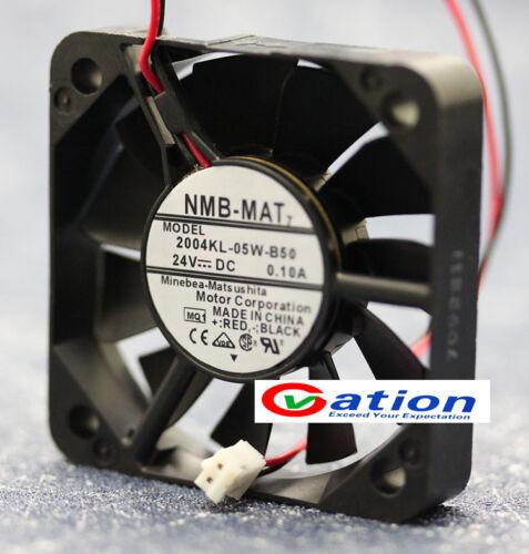 Pour NMB 2004KL-05W-B50 24 V 5 cm 5010 Double Roulement à billes Fan