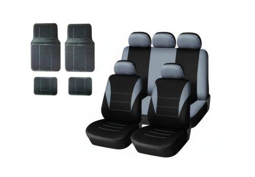 Fussmatten Gummi universal Neu Auto Sitzbezug Schonbezüge Schonbezug Set Grau