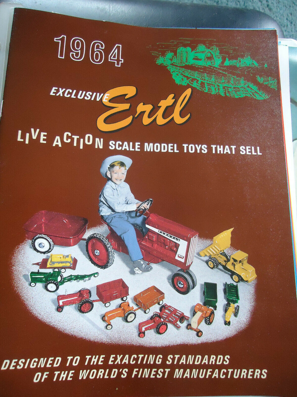 1967- 1973 ERTL REPRINT TOY CATALOGS